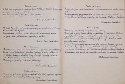 Kronika szkolna szkoła podstawowa